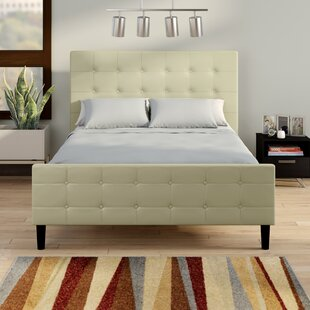 Best Price Simon Upholstered Platform Bed by Wrought Studio Reviews (2019) & Buyer's Guide