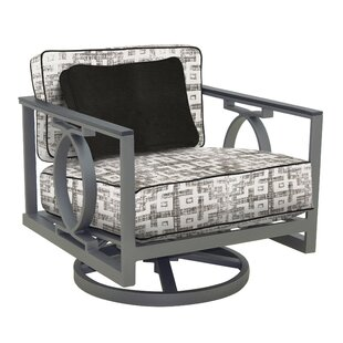 Leona Sunrise Swivel Rocking Chair with Cushion