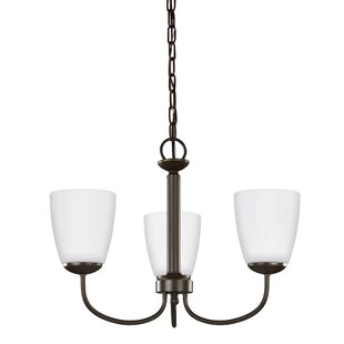 Red Barrel Studio Zolt?n 3-Light Shaded Chandelier