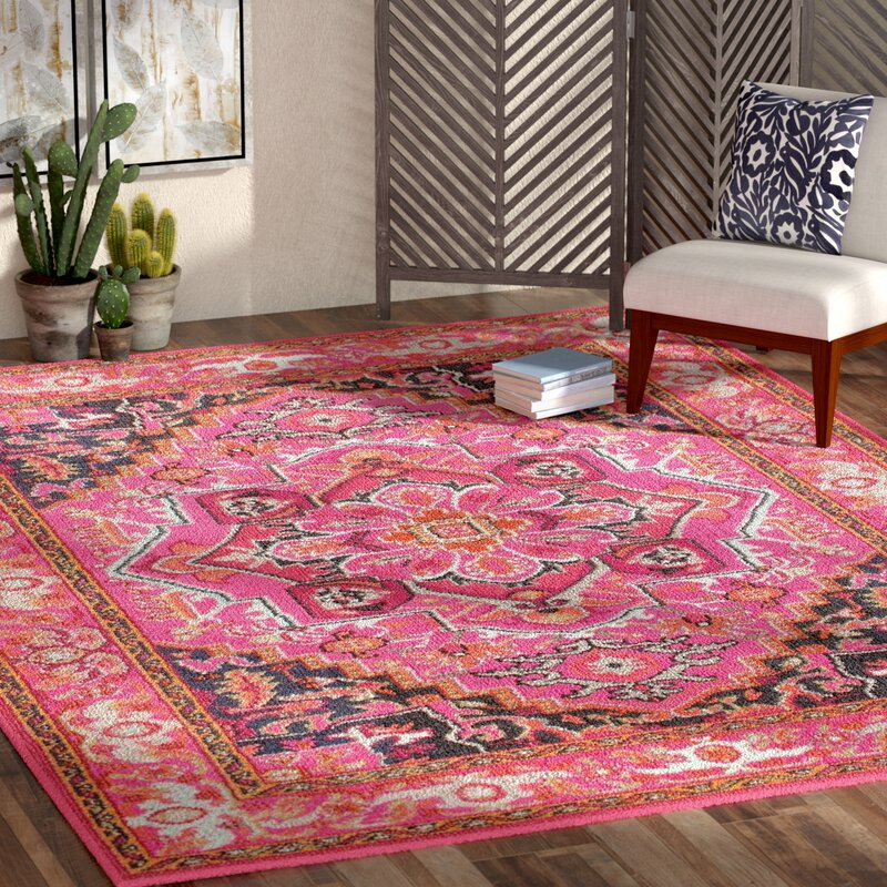 overstock x shipping pink rug home today fancy garden maison nuloom vintage persian free product rouge roya traditional area