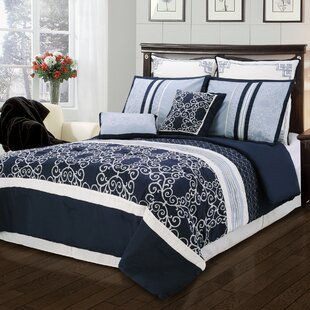Simple Luxury Clarissa 8 Piece Comforter Set
