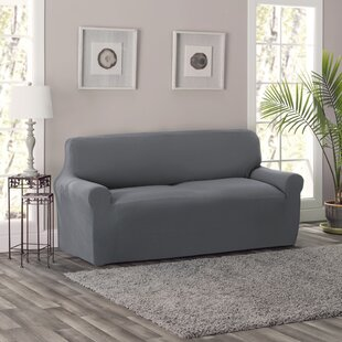 Best Price King Box Cushion Sofa Slipcover by Breakwater Bay Reviews (2019) & Buyer's Guide
