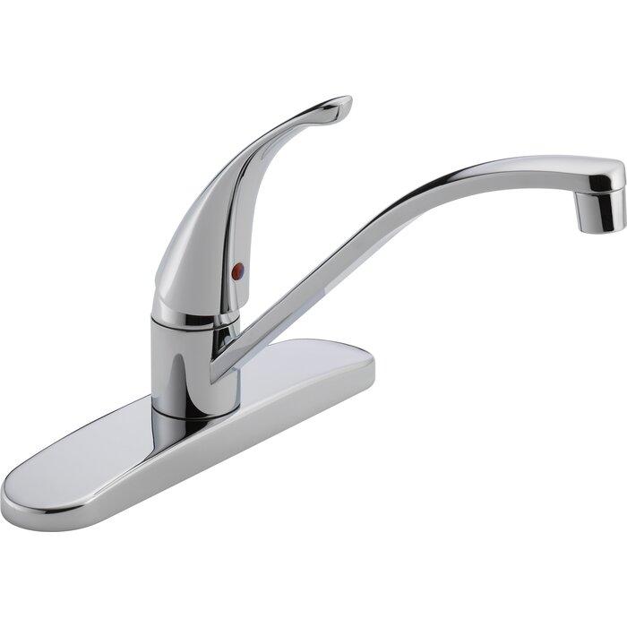 Single Handle Centerset Deck Mounting Kitchen Faucet
