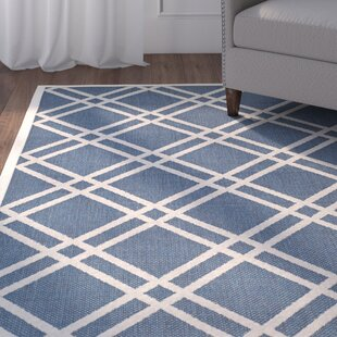 Herefordshire Ivory/Blue Indoor/Outdoor Area Rug
