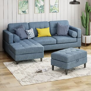 Ivy Bronx Armand Sectional with Ottoman
