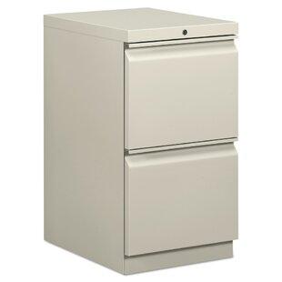 HON 2-Drawer Mobile Vertical Filing cabinet