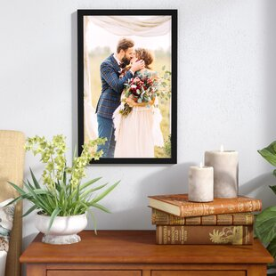 vibrant idea yellow picture frames. Matte Wood Picture Frame Frames You ll Love  Wayfair