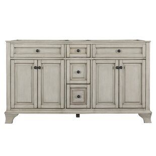 Read Reviews Levesque 61.12 Double Bathroom Vanity Base Only ByLark Manor