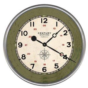 woodsetter century shipyard wall clock