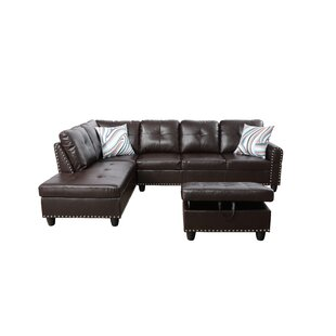 Red Barrel Studio Samford Sectional with ..
