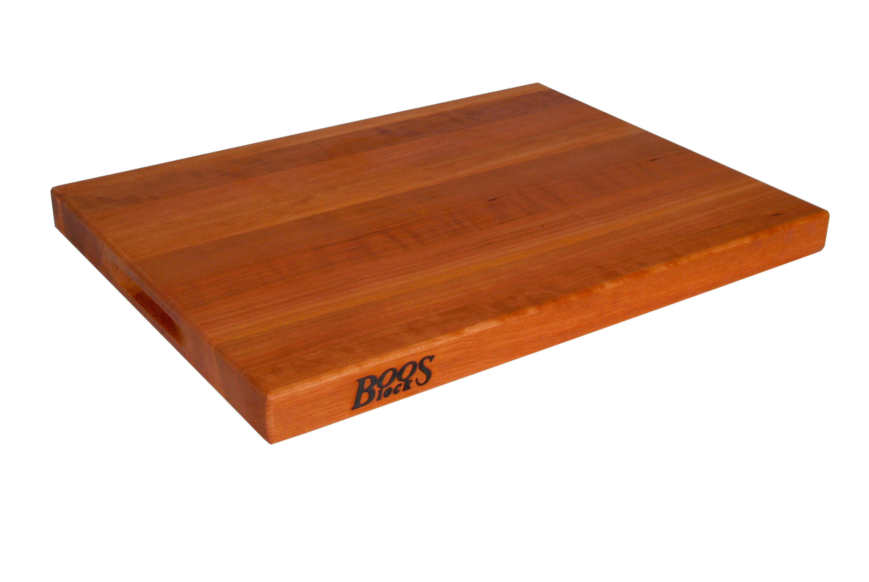 John Boos Boosblock Cherry Wood Cutting Board Reviews Wayfair