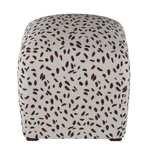 Wrought Studio Marksbury Cube Ottoman