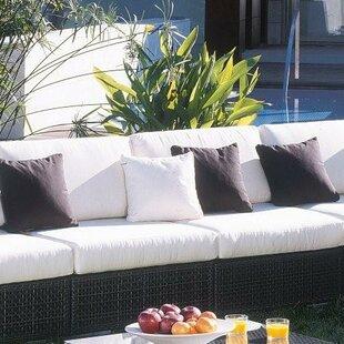 Hospitality Rattan Soho Patio Chair with Sunbrella Cushions