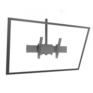 Fusion Extra Large Single Pole Ceiling Mounts Swivels for Greater than 50
