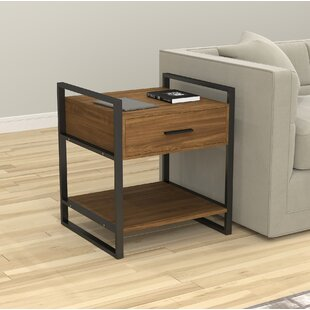 Adda End Table by Williston Forge