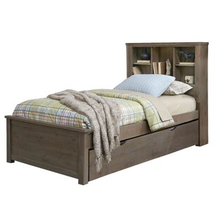 Stella Twin Bookcase Bed with Trundle by Grovelane Teen