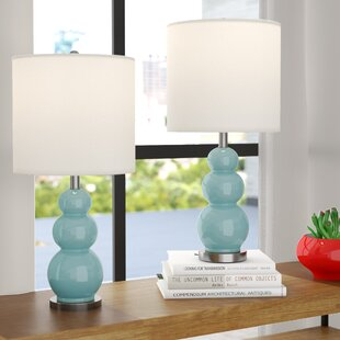Top Reviews Moorer Gourd 20 Table Lamp (Set of 2) By Brayden Studio