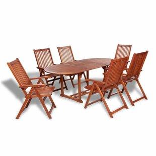 Chan 6 Seater Dining Set Image