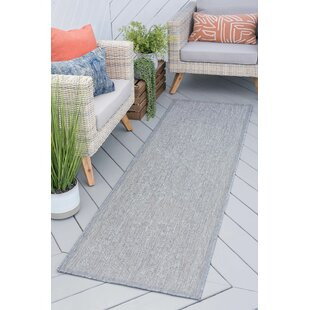 Speegle Traditional Medallion Gray Indoor/Outdoor Area Rug