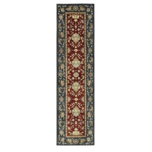 Great Price Bois Red/Tan Area Rug By Astoria Grand