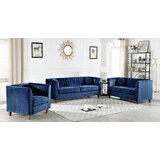 Bellevue 3 Piece Living Room Set by House of Hampton