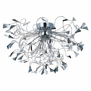 Orren Ellis Asterope 12-Light Flush Mount