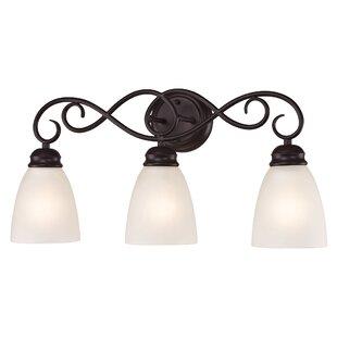 Reviews Sophia 3-Light Vanity Light By Alcott Hill