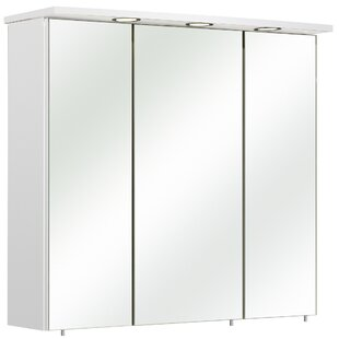 Carina 75 X 72cm Mirrored Wall Mounted Cabinet By Quickset