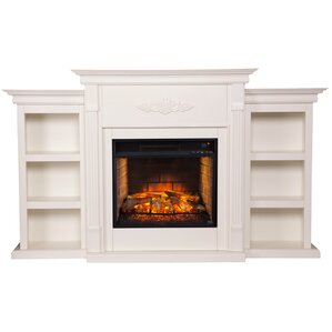 White Electric Fireplaces You'll Love | Wayfair