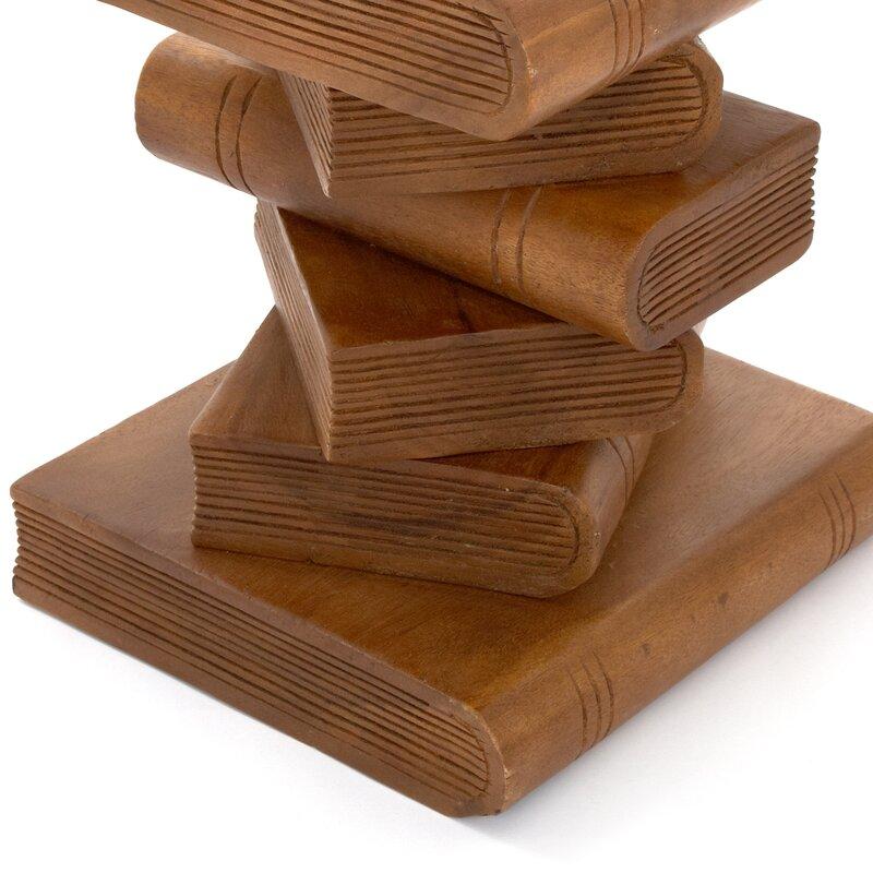 Superb Bookstack Side Table Download Free Architecture Designs Fluibritishbridgeorg