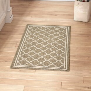 Herefordshire Brown/Bone Indoor/Outdoor Area Rug
