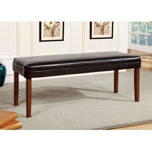 Sirius Faux Leather Bench