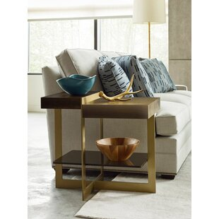 Aalborg Bronze End Table