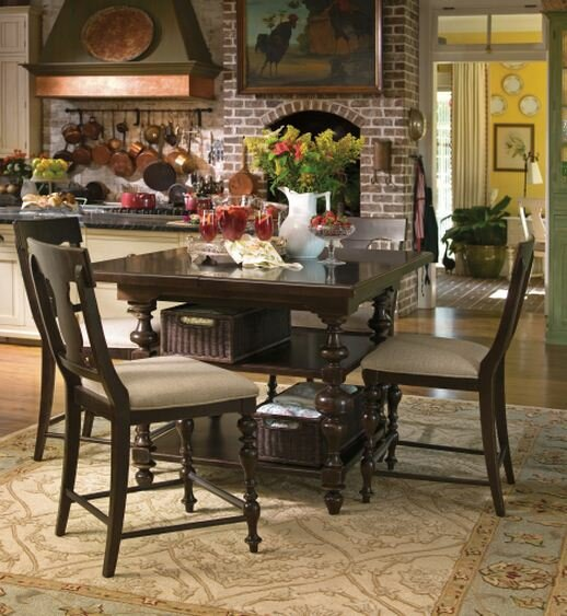 Paula Deen Home Sweet Tea Counter Height Dining Table & Reviews | Wayfair - Paula Deen Home Sweet Tea Counter Height Dining Table & Reviews