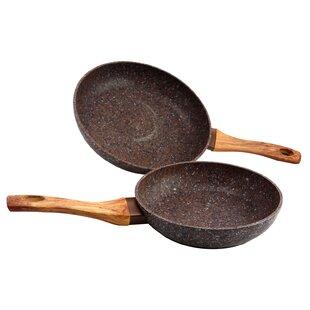 Oster Collington Aluminum 2 Piece Non-Stick Frying Pan Set
