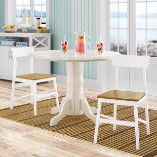 Finley Solid Wood Dining Chair (Set of 2) Beachcrest Home