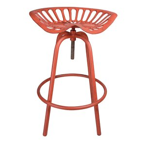 Adjustable Height Swivel Tractor Stool