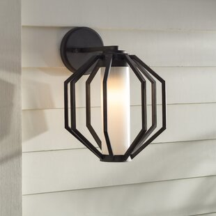 Affordable Wester 1-Light Outdoor Wall Lantern By Brayden Studio