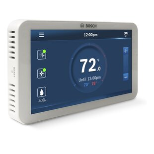 Bosch White Wi-Fi Enabled Thermostat By Bosch Thermotechnology