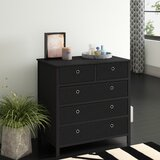 Solange 5 Drawer Bachelor's Chest by Andover Mills™