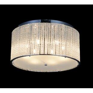 CWI Lighting 6-Light LED Flush Mount