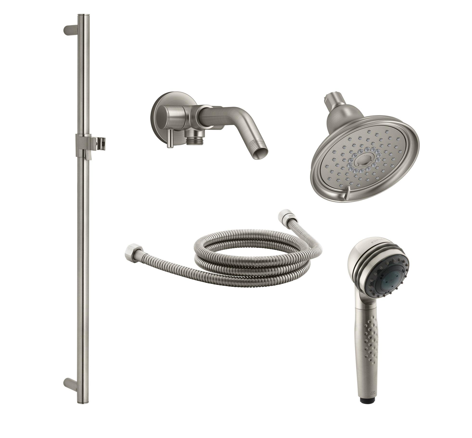 Kohler Bancroft Showering Kit With Multi Function Handshower And Shower Arm Diverter