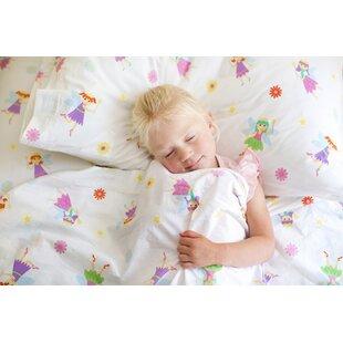 Wildkin Olive Kids Fairy Princess 205 Thread Count 100% Cotton Sheet Set
