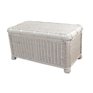 Beachcrest Home Astley Wicker Trunk