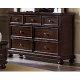 Joleen Wooden 7 Drawer Double Dresser by Darby Home Co
