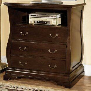 Shealey 3 Drawer Media Chest