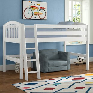 Budget Isabelle Twin Low Loft Bed by Viv + Rae Reviews (2019) & Buyer's Guide