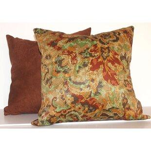Fire Floral 2 Piece Throw Pillow Set