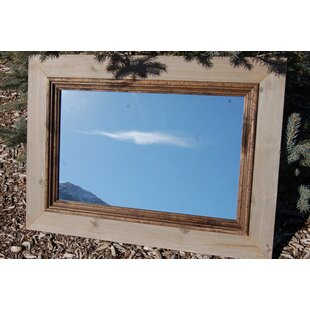 Millwood Pines Folden Rustic Cabin Accent Mirror