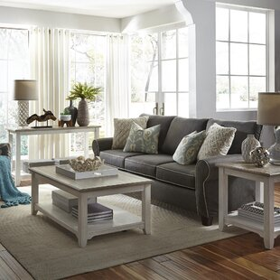 Dunstable 3 Piece Coffee Table Set Canora Grey
